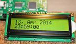 Wyświetlacz LCD podłączony do PyMCU