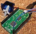 Serwo TowerPro SG90 9G podłączone do pyMCU